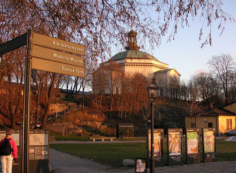 Stockholm Skeppsholmen Skeppsholmskyrkan