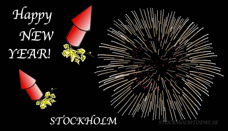 New years eve in Stockholm