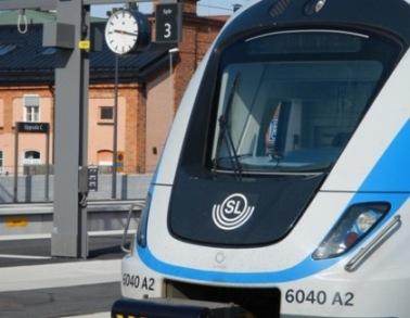 Train to Arlanda Airport