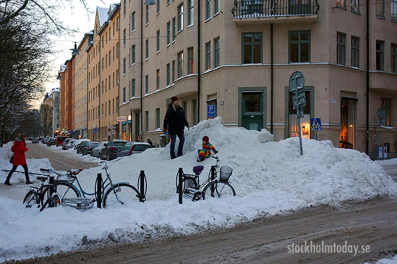 stockholm in the snow - photo #2