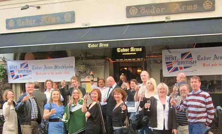 tudor arms stockholm english pub