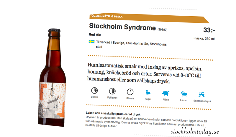 stockholm syndrome beer