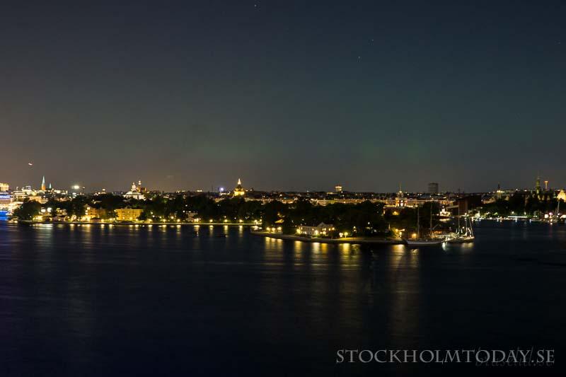 northen lights stockholm today