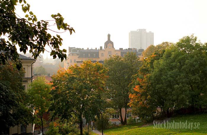 stockholm morning skyline