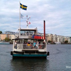 Free boat trip in Stockholm