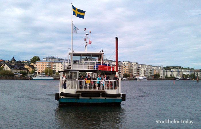 Stockholm boat trip