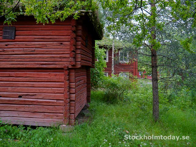 stockholm today skansen red house