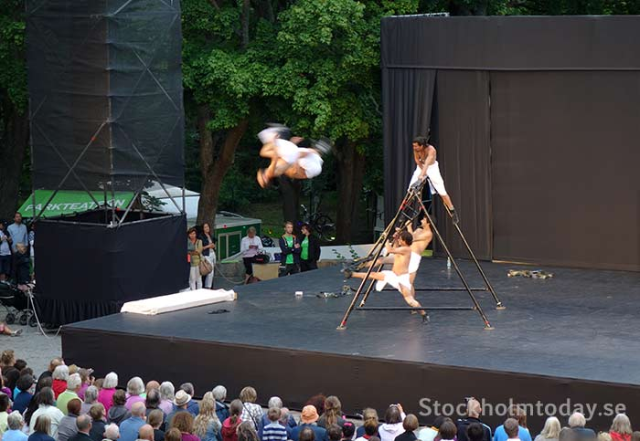 stockholmtoday free outdoor theater