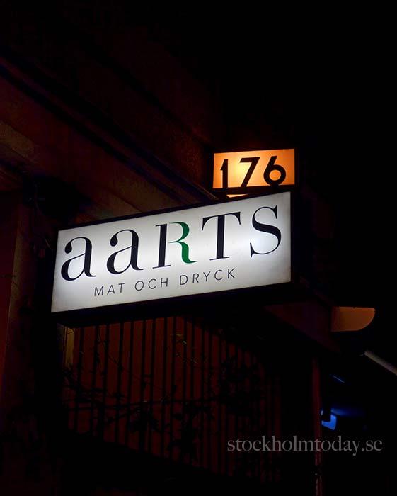 stockholm today aarts restaurant