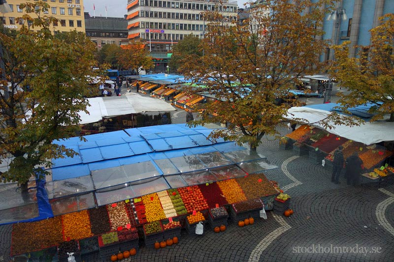 stockholm today open air market