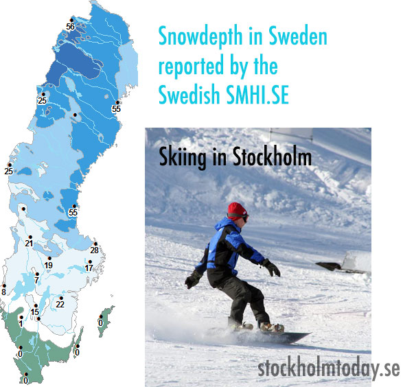 stockholmtoday skiing in Stockholm