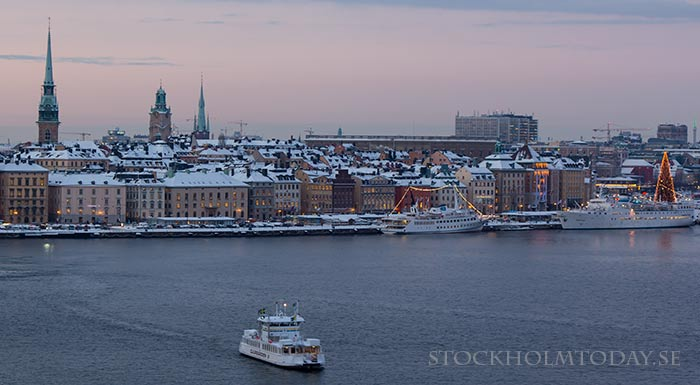 stockholm in the snow - photo #45