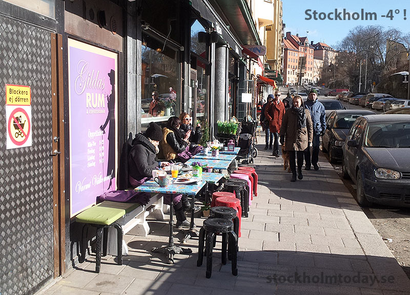 stockholm today coffee outdoor cafe