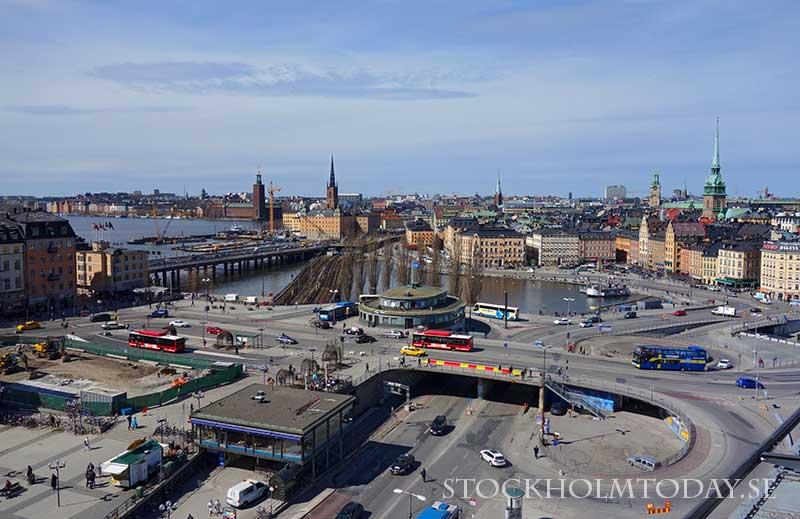 stockholm today slussen 2013