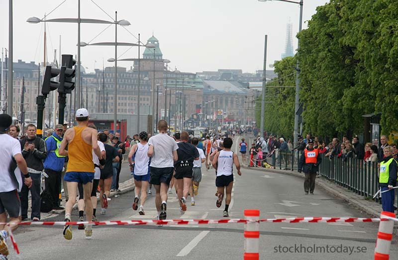 stockholm today maraton