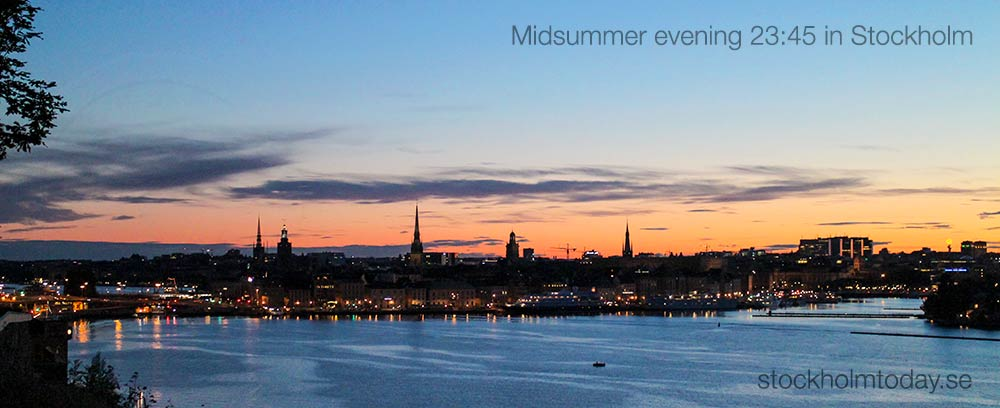 midsummer stockholm today