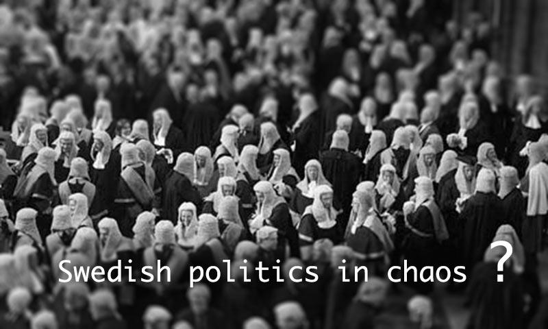 sweden political chaos