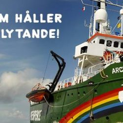 Greenpeace Arctic Sunrise in Stockholm