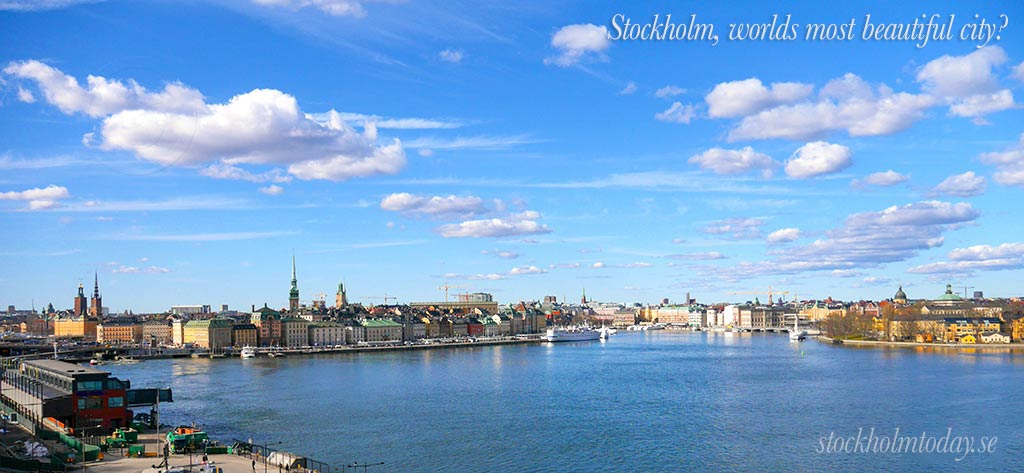stockholm most beautiful city today