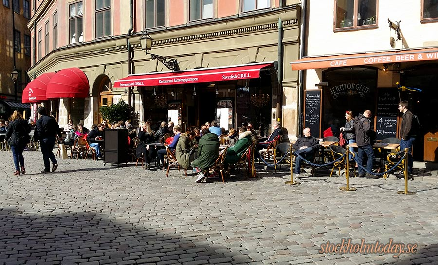 stockholm today old town cafe