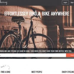Great for travellers – free bike