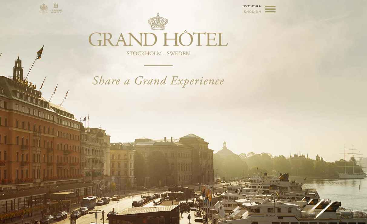 grand hotel stockholm today