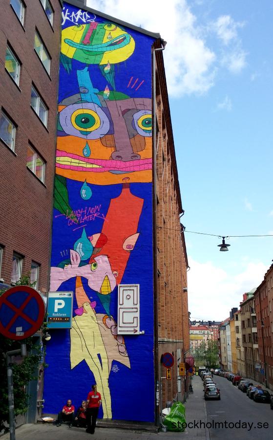 stockhom today wall art