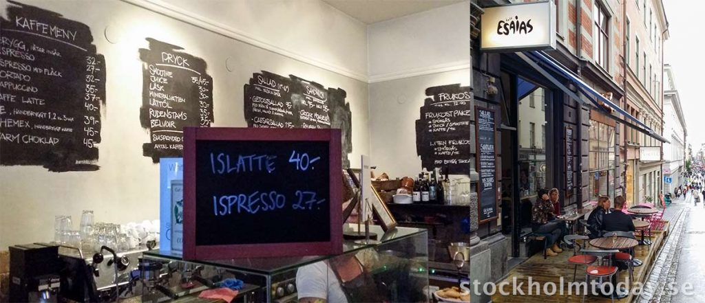 best coffee in stockholm esaias