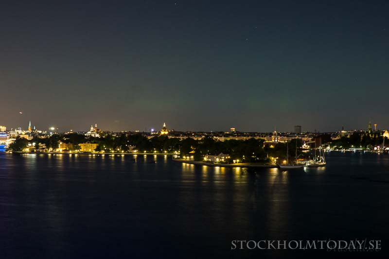 northen lights stockholm today