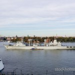 Chinese war ships in Stockholm