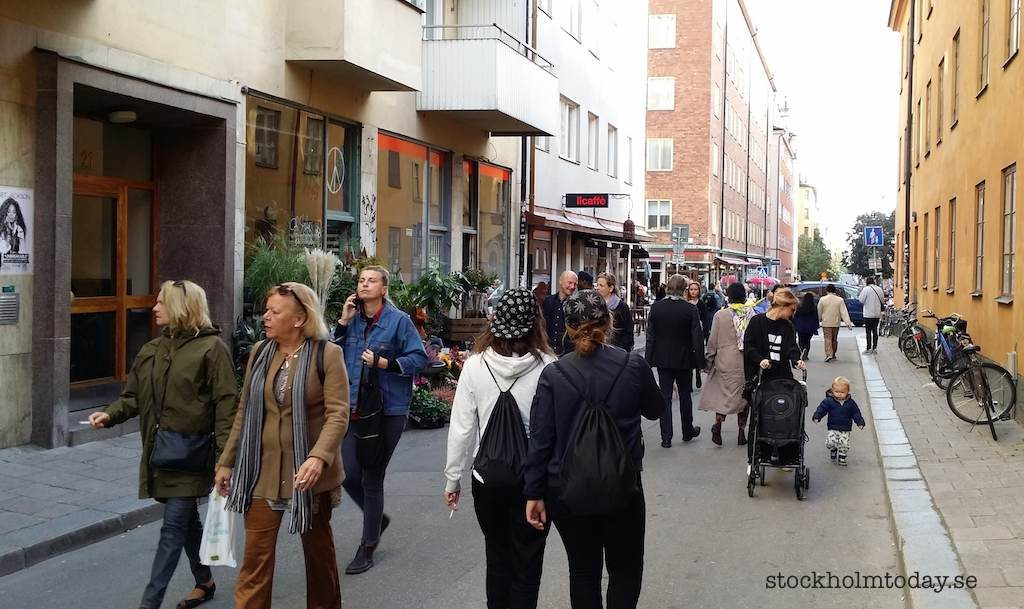sofo södermalm crowded stockholm today