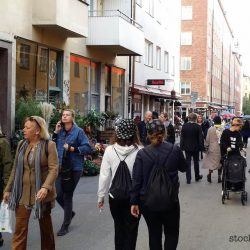 Crowded in SoFo Stockholm