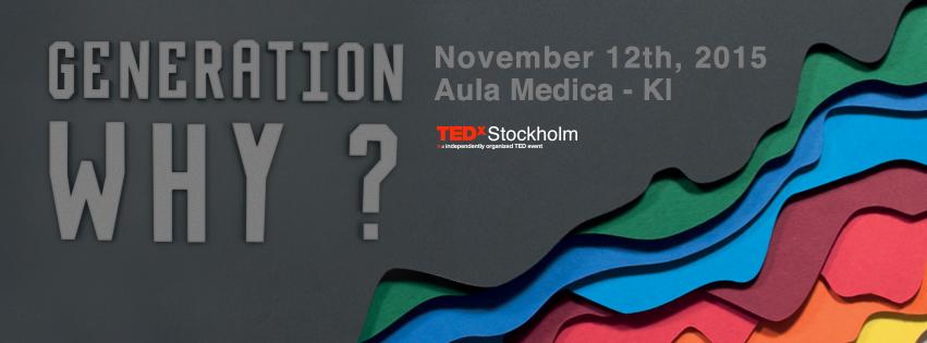 Generation WHY Stockholm TEDx