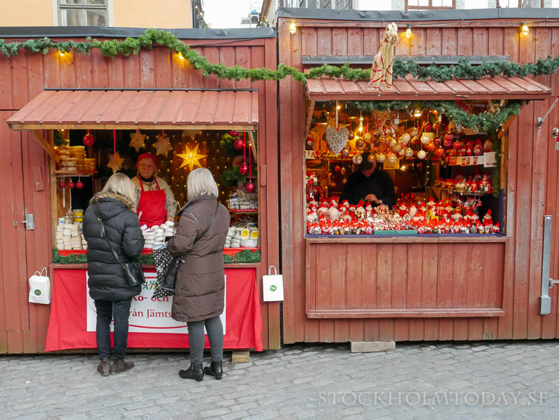 christmas market old town stockholm