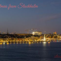 Merry Christmas from Stockholm Today
