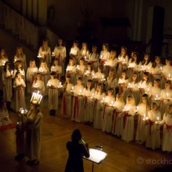 Stockholm Lucia celebrations