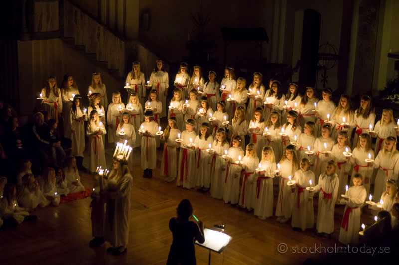 stockholm today lucia