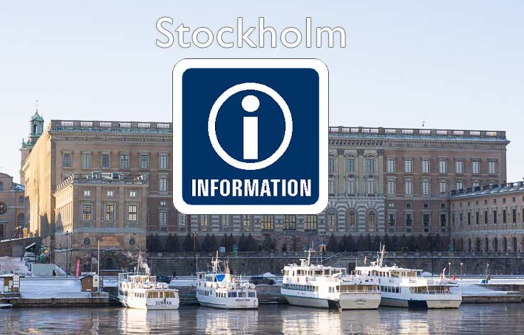 stockholm tourist information today