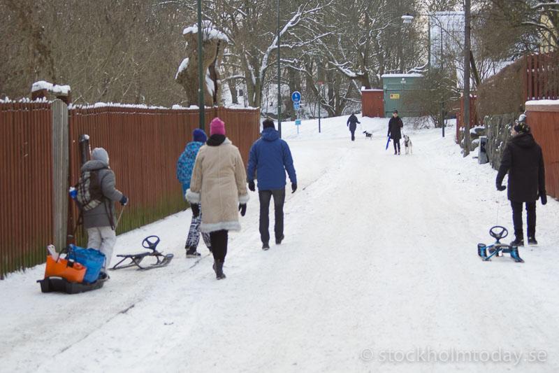 stockholm snow winter cold