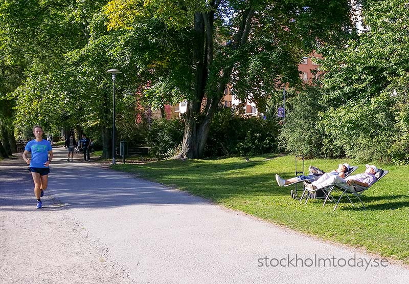 exercise or sleep stockholm today
