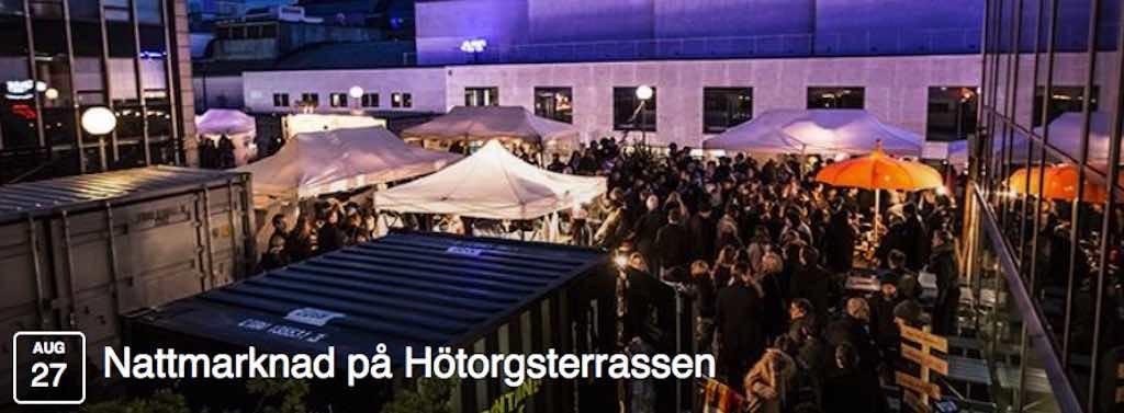 stockholm today design market night