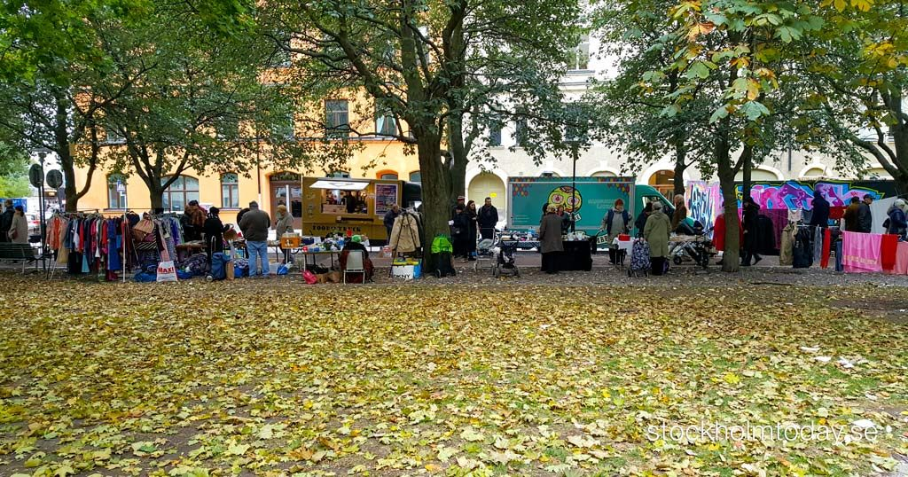 stockholm today autumn fleemarket