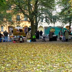 Autumn flee market in SoFo Stockholm