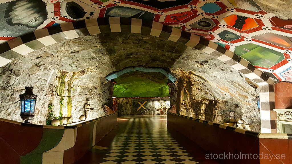 stockholm today subway free art exhibition