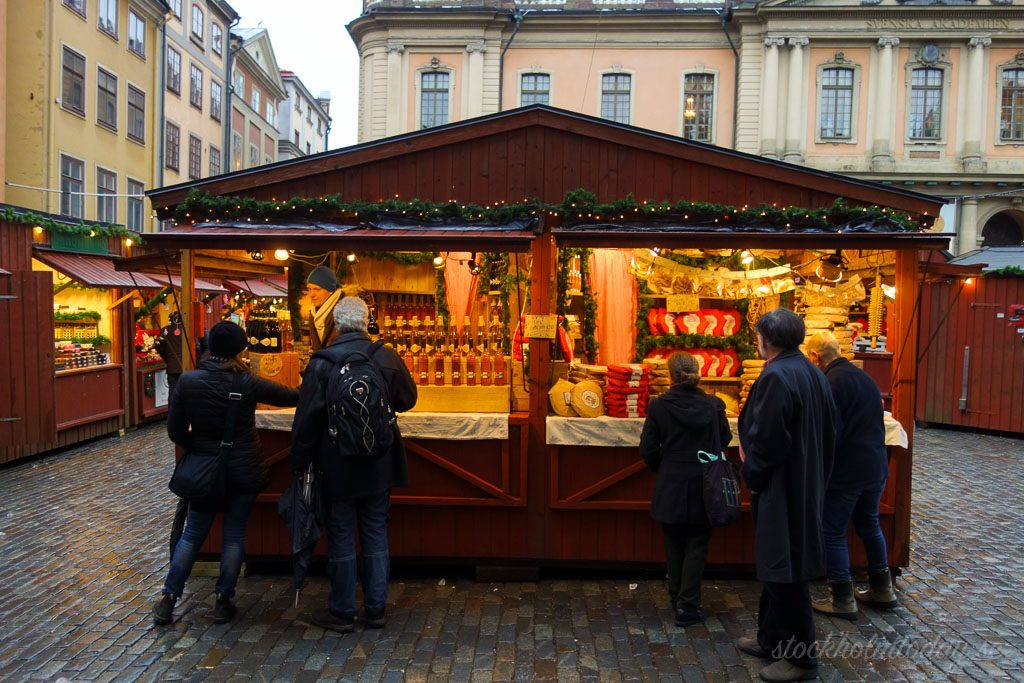 stockholm christmas market old town