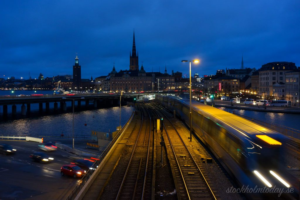 Stockholm today dark cold