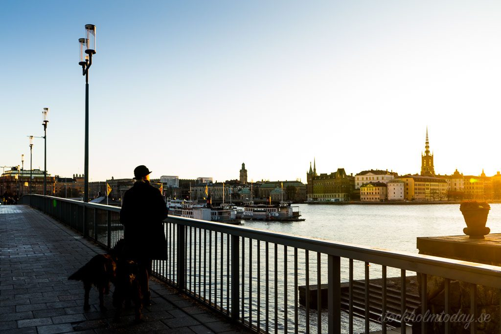 stockholm today sunrise at city hall